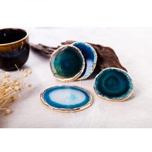 Agate Coasters Decorative Stone Coaster For Home Decor