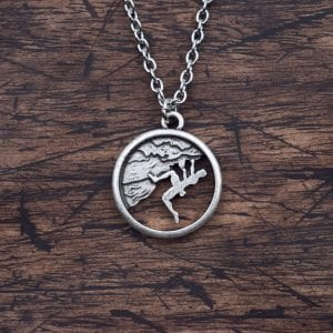 Climber Pendant Jewelry For Necklace