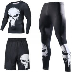 Cool Compression Tracksuits For Fitness Training