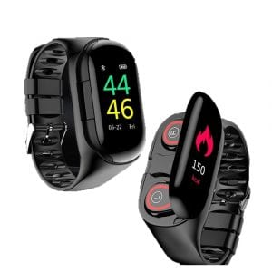 Smartwatch With Earbuds For Active Individuals