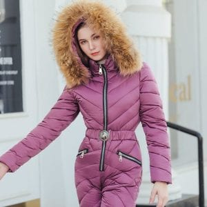 Women Snow Suit High-Quality Winter Apparel