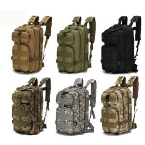 An Outdoor Bag For Holidays, Hunting And Hiking