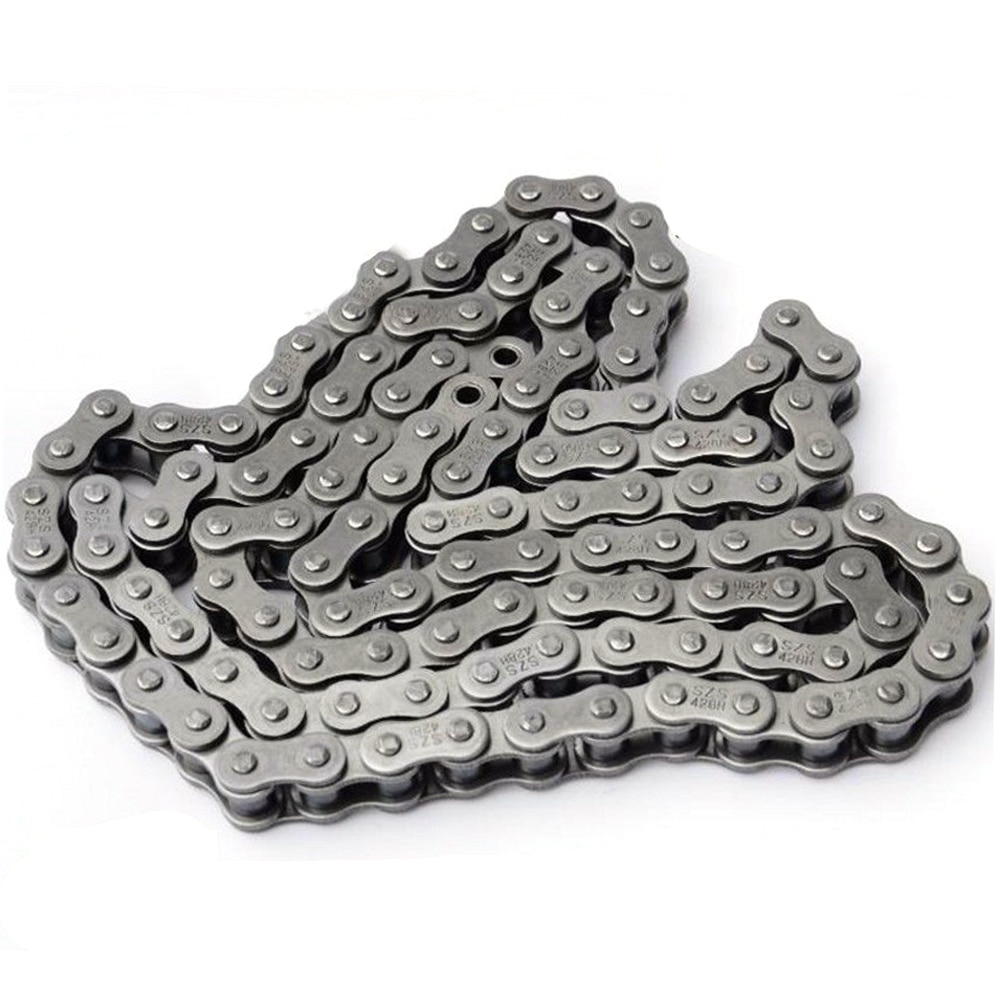 A Motorcycle Section: Bike Roller Chains