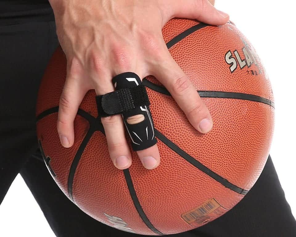 A Finger Protector Guard For Basketball Players